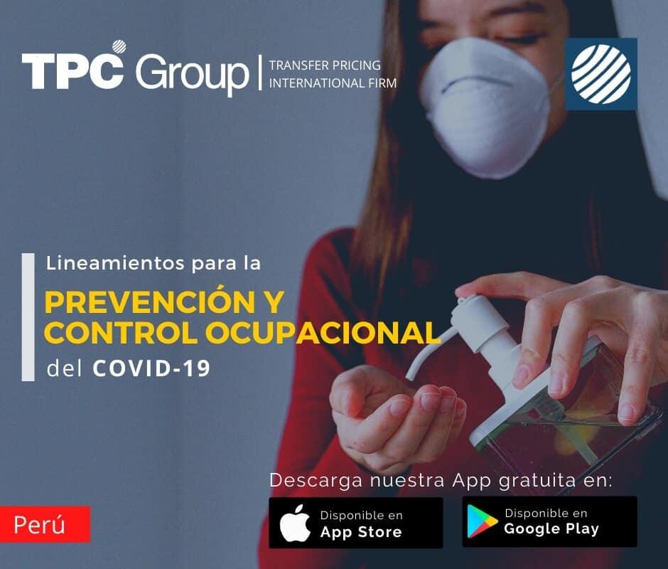 Lineamientos para prevención y control ocupacional del covid-19 en Perú