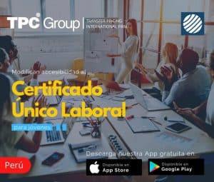 Modifican accesibilidad al Certificado Único Laboral para jovenes en Perú