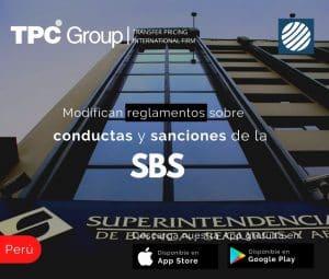 Modifican reglamentos sobre conductas y sanciones de la SBS en Perú