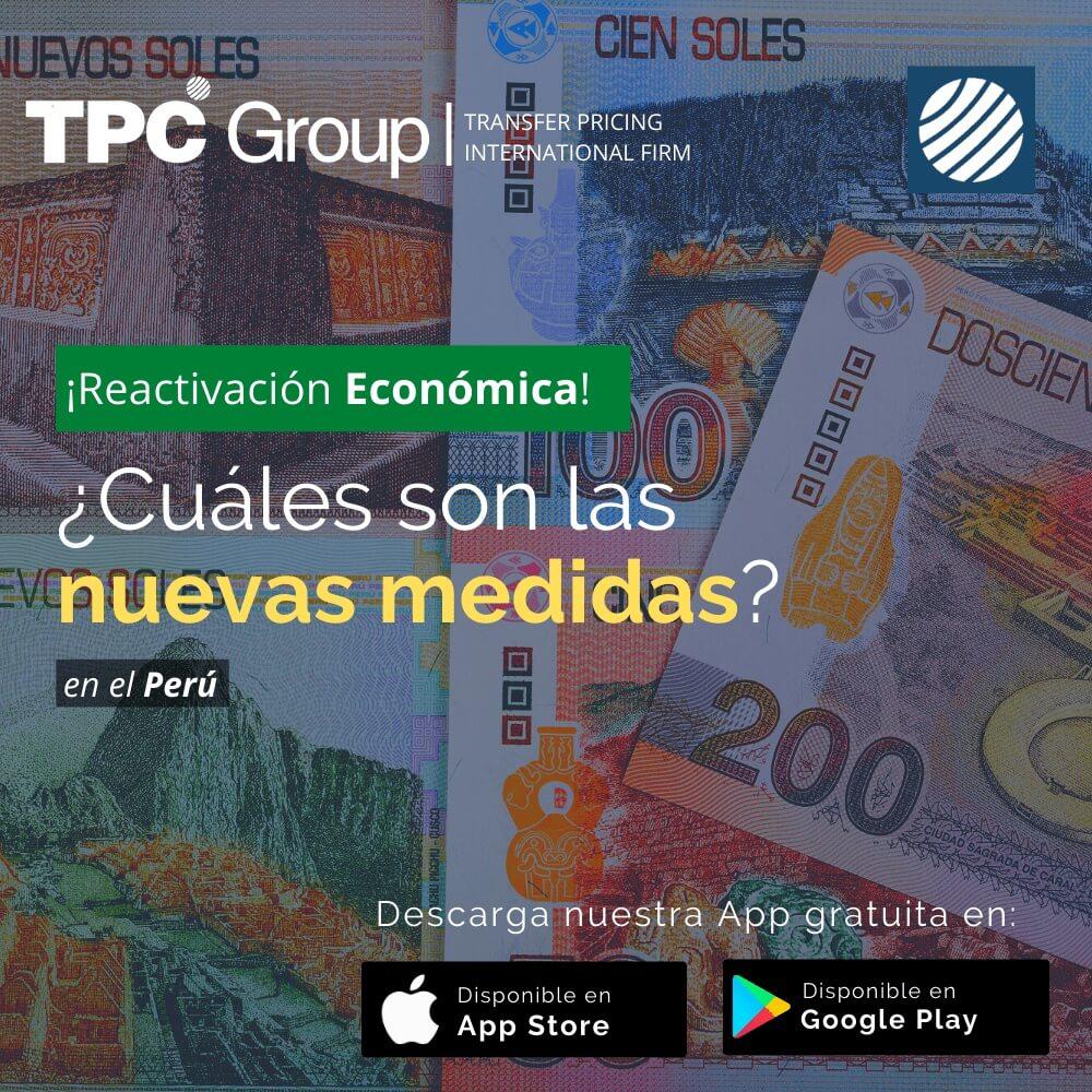Reactivación Económica nuevas medidas min en Perú