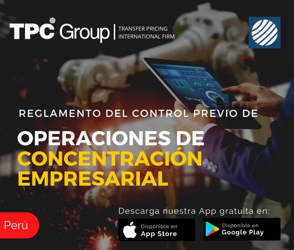 Reglamento del control previo de operaciones de concentración empresarial en Perú