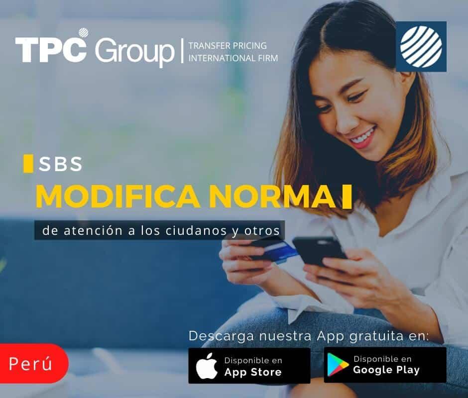 SBS Modifica norma de atención a los ciudadanos y otros en Perú