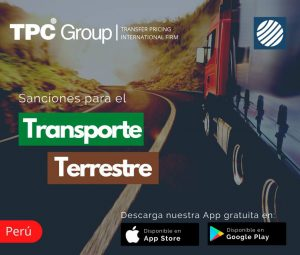 Sanciones de transporte terrestre en Perú