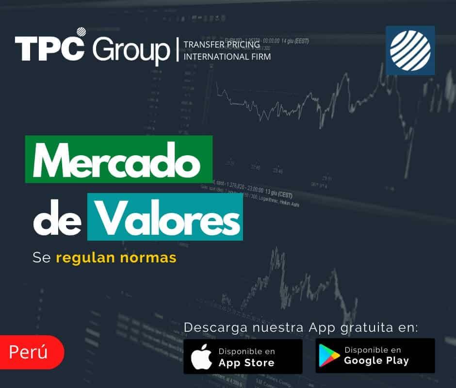 Se regulan normas del Mercado de Valores en Perú