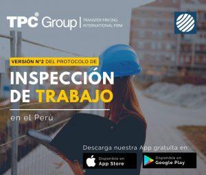 Versión N°2 del protocolo de Inspección de Trabajo en el Perú