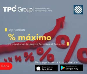 Aprueban %max de devolución ISC en Perú