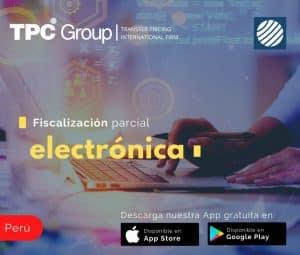 Fiscalización-parcial electrónica en Perú