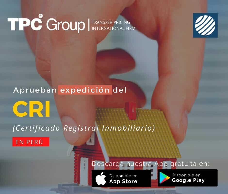 Aprueban expedición del CRI en Perú