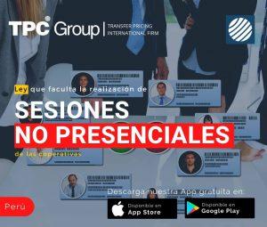 Ley que faculta la realización de sesiones no presenciales de las cooperativas en Perú