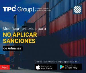 Modifican criterios de faculad discrecional para no aplicar sanciones en Perú