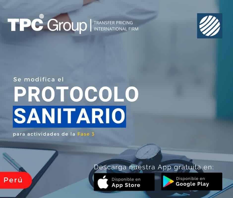 Se modifica el protocolo sanitario para actividades de la fase 3 en Perú