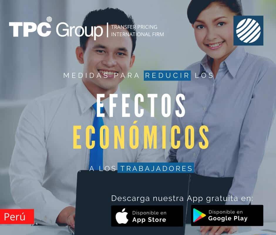 Medidas para reducción efectos económicos a los trabajadores en Perú