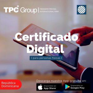 Certificado Digital para personas físicas en República Dominicana