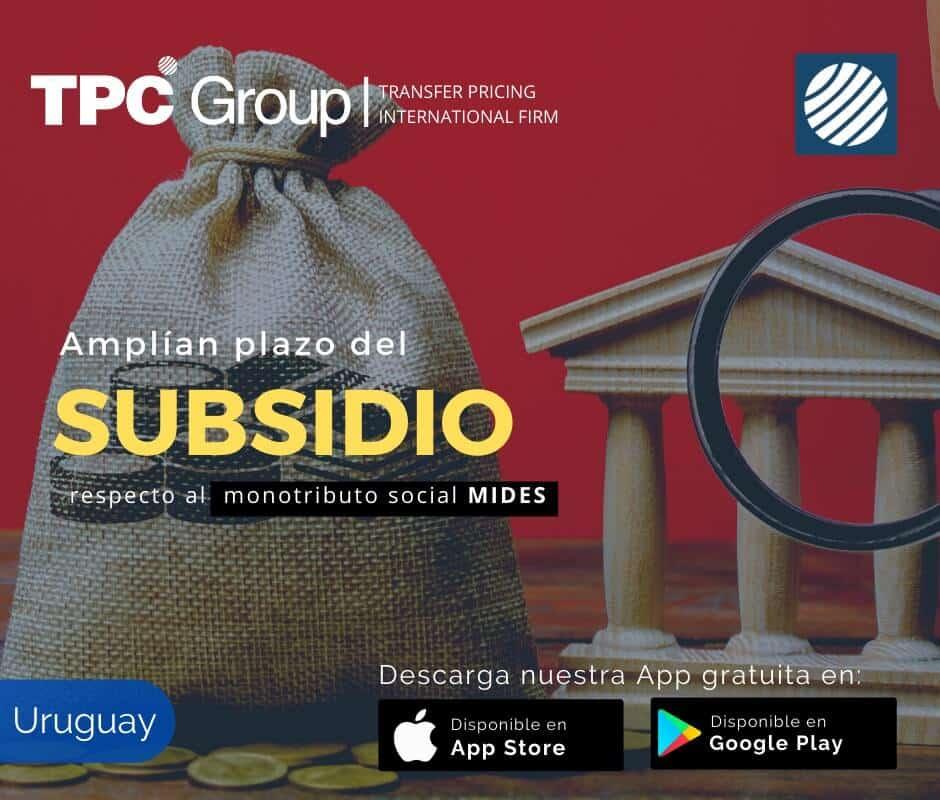 Amplían plazo del subsidio respecto al monotributo social MIDES en Uruguay