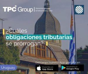 Prórroga de obligaciones tributarias en Uruguay
