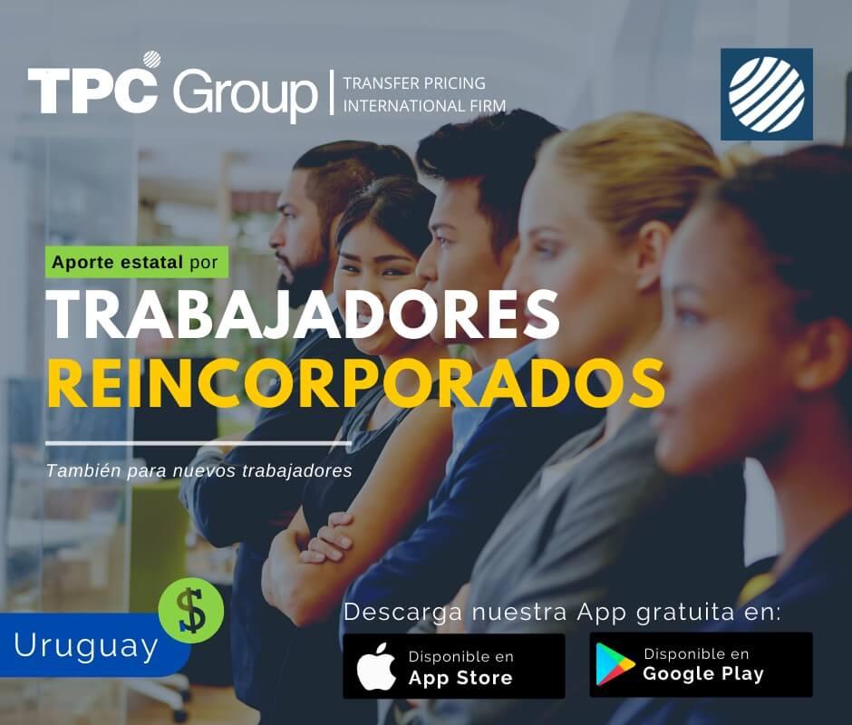 Otorgan aporte estatal por trabajadores reincorporados en Uruguay