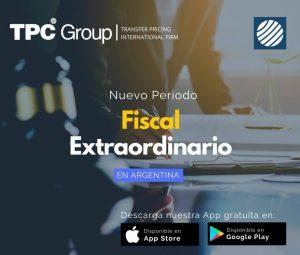 Nuevo Periodo Fiscal Extraordinario