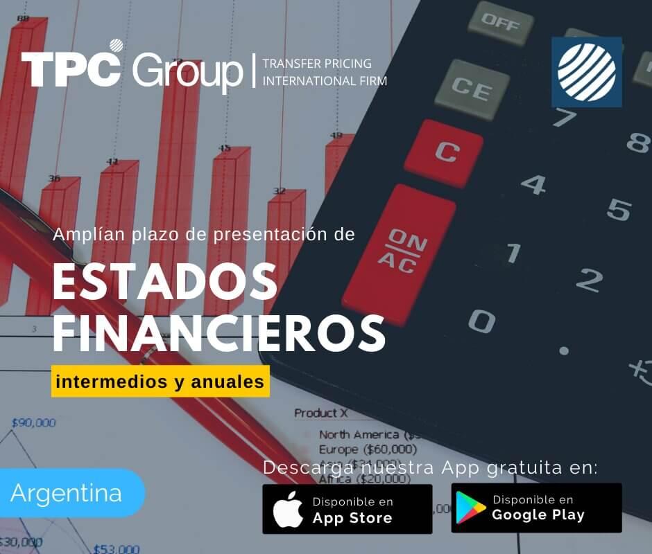 Amplian Plazo de Presentación de Estados Financieros