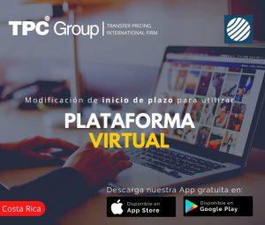 Modificación de Inicio de Plazo para Utilizar Plataforma Virtual