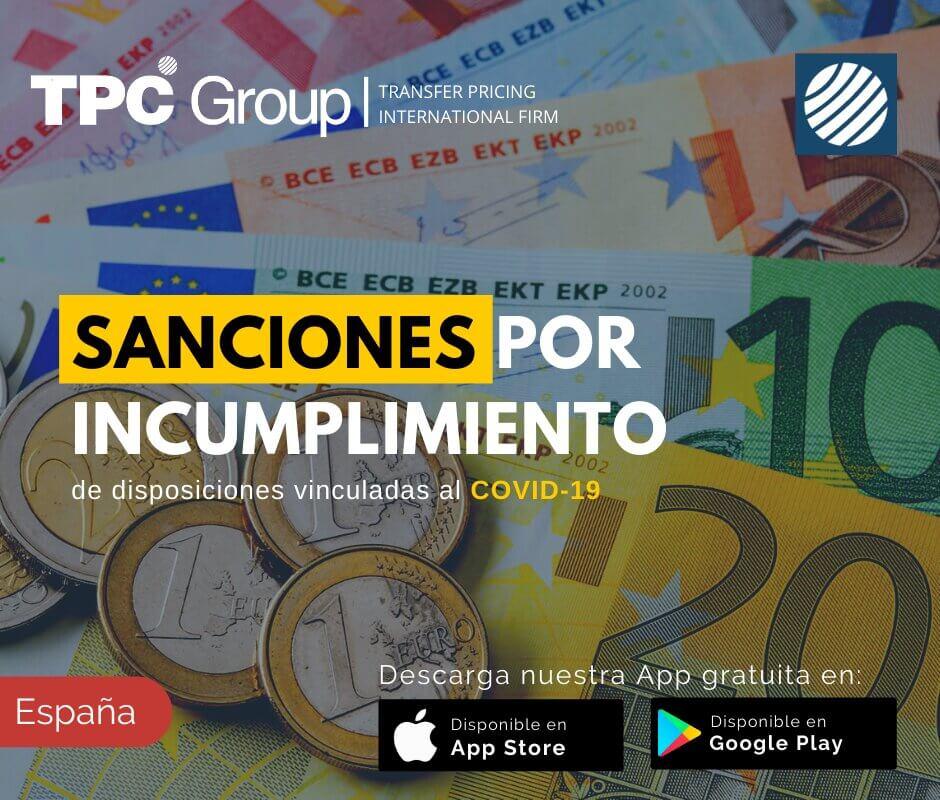 Sanciones por Incumplimiento de Disposiciones