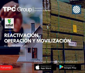 Reactivación Operación y Movilización