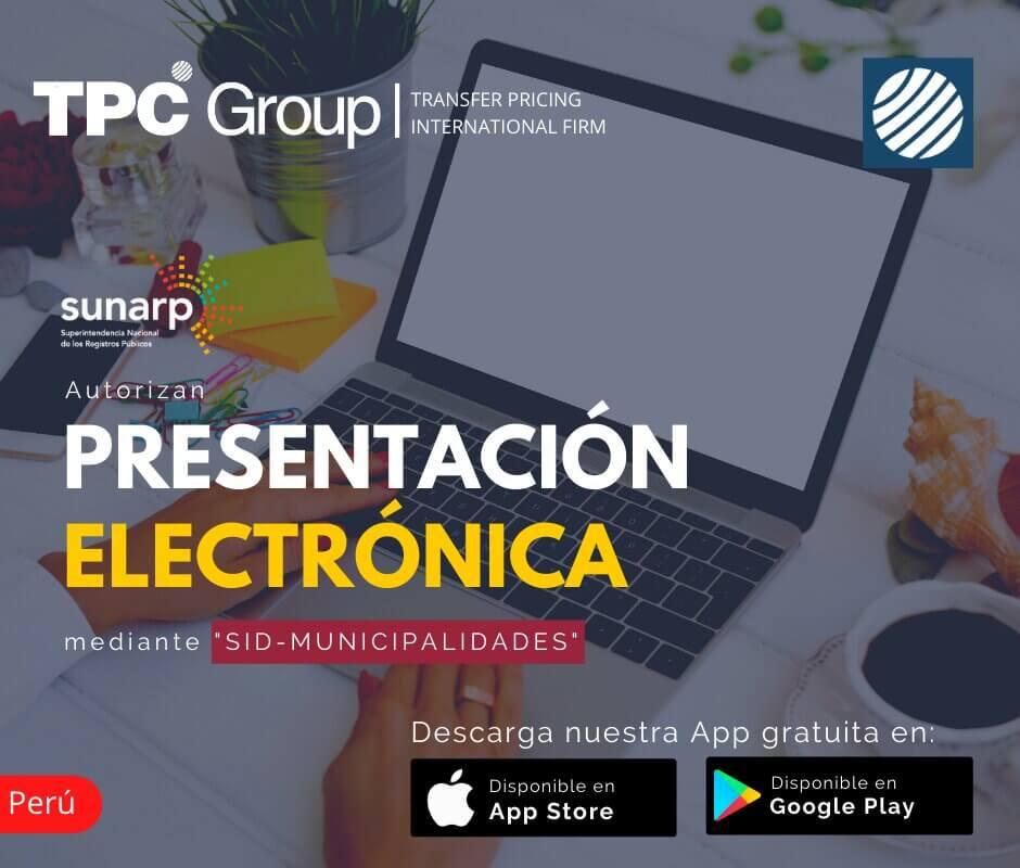 Autorizan Presentación Electrónica