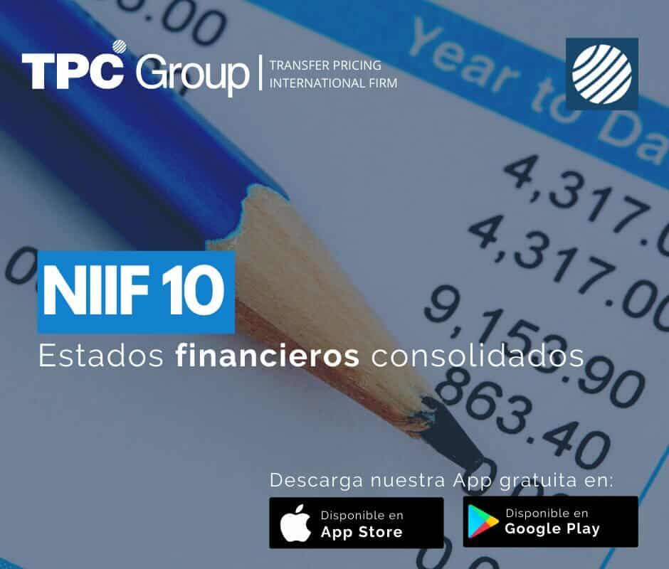 NIIF 10 Estados Financieros