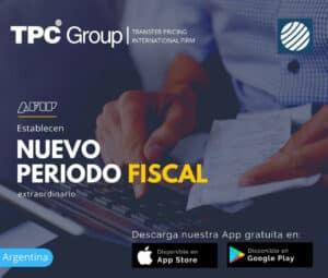 Establecen Nuevo Periodo Fiscal