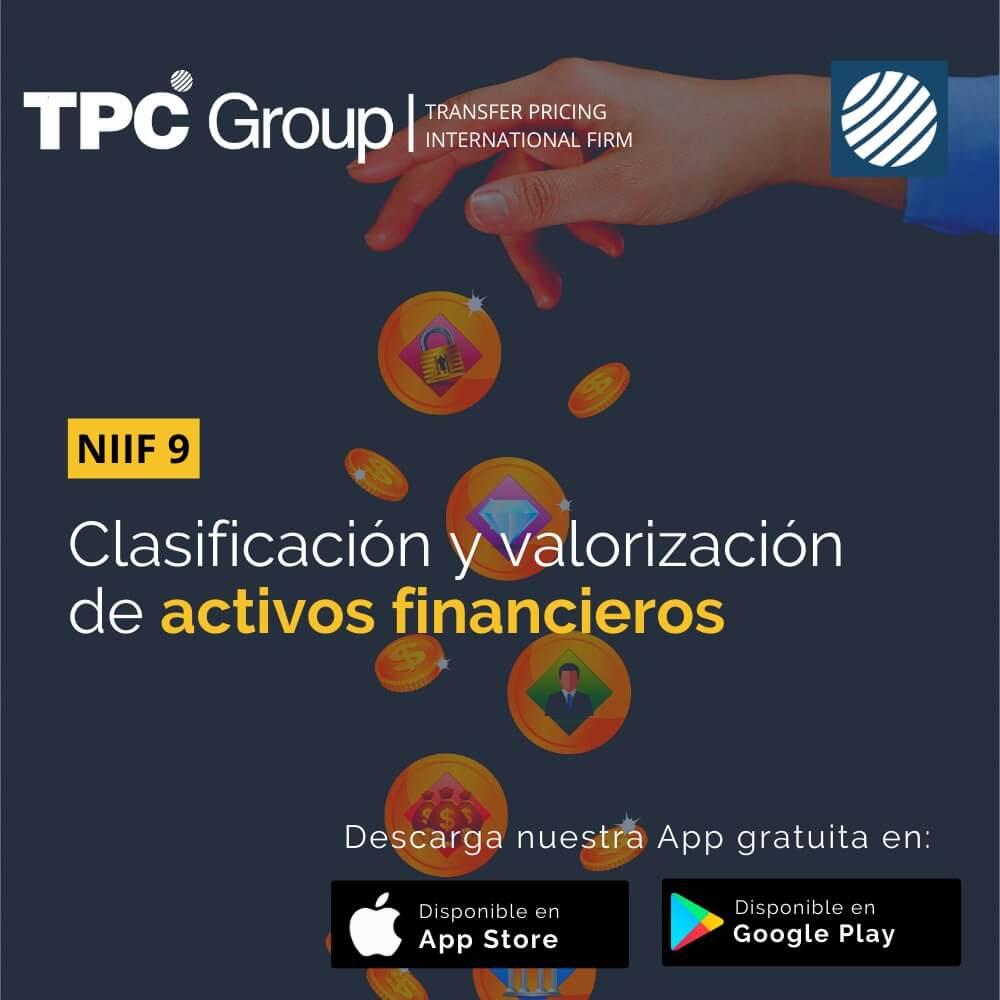 CLASIFICACIÓN Y VALORIZACIÓN DE ACTIVOS FINANCIEROS