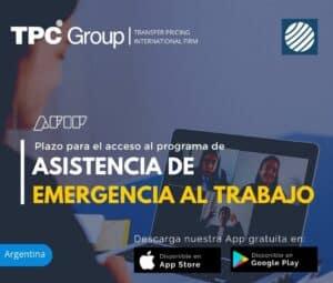 Plazo para el Acceso al Programa de Asistencia de Emergencia