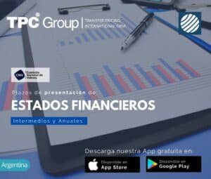 Plazos de Presentación de Estados Financieros