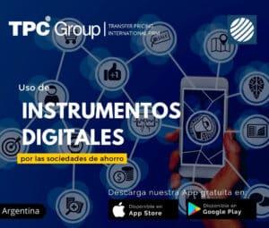 Uso de instrumentos digitales por las sociedades de ahorro 1 en Argentina
