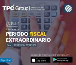 Fijan nuevo periodo fiscal extraordinario en Argentina