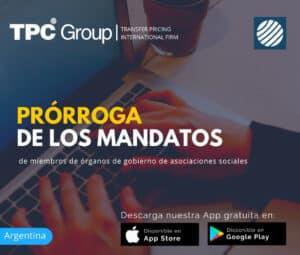 Prórroga de los mandatos de miembros de organos de gobierno de asociaciones sociales en Argentina