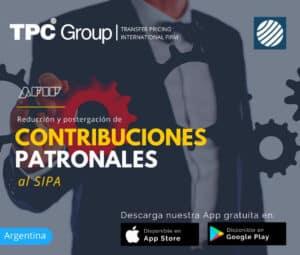 Reducción y postergación de contribuciones patronales al SIPA en Argentina