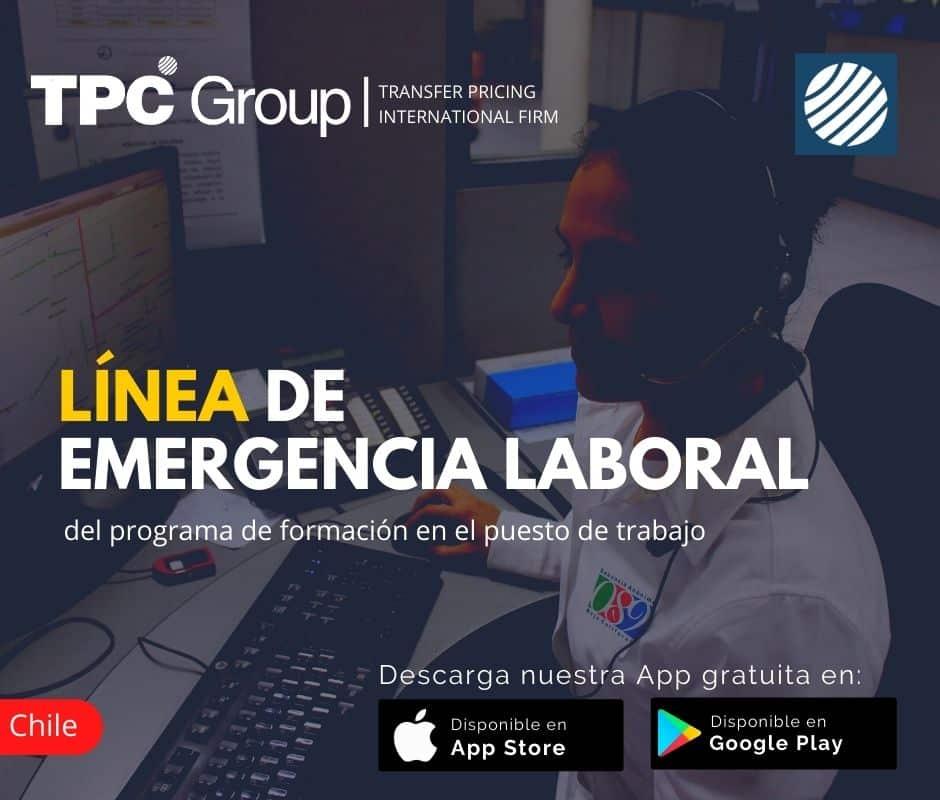 Linea de Emergencia Laboral del Programa de Formación en el Puesto de Trabajo