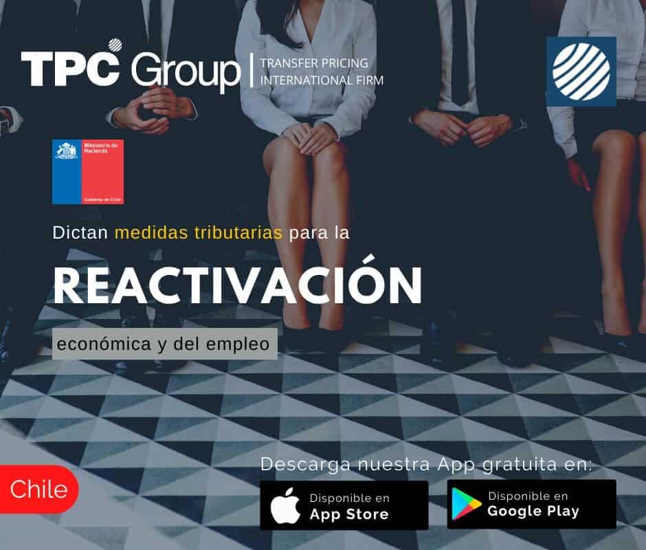 Dictan medidas tributarias para la reactivación económica y del empleo en Chile