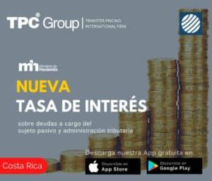 Nuevas tasas de interes en Costa Rica