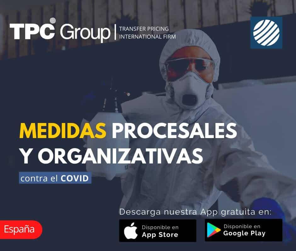 Medidas Procesales y Organizativas contra el COVID