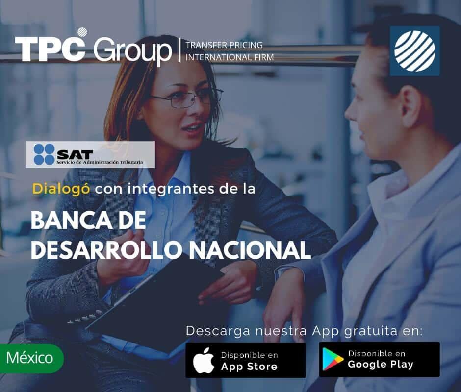 Dialogo con integrantes de la BANCA DE desarrollo nacional en Mexico