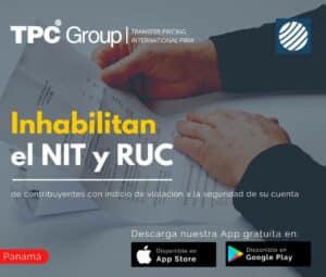 Inhabilitan el NIC y RUC de Contribuyentes