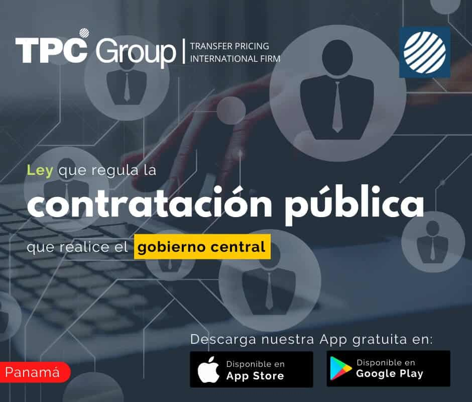 Ley que regula la contratación pública que realice el gobierno central en Panamá