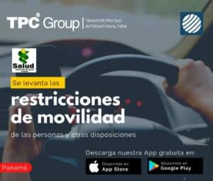 se levanta las restricciones de movilidad de las personas y otras disposiciones en Panama