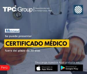 Se Puede Presentar Certificado Médico Fuera de Plazo
