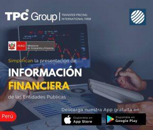 Simplifican la Prestación de Información Financiera