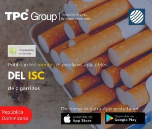 Publican los Montos Específicos Aplicables para el Calculo de la ISC de Cigarillos