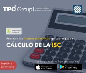Publican los Montos Específicos Aplicables del Calculo de la ISC