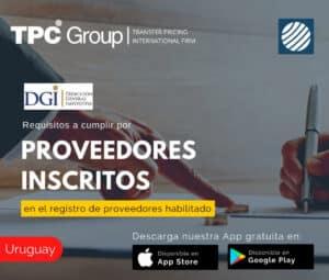 Requisitos a cumplir por proveedores inscritos en el registro de proveedores habilitado en Uruguay