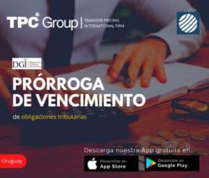 Prorroga de vencimiento de obligaciones tributarios en uruguay