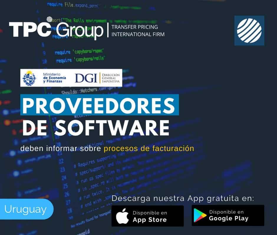 Proveedores de software deben informar sobre procesos de facturación en Uruguay